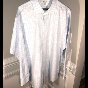 Brooks Brothers Regent Fit Non Iron Check D/S 👔